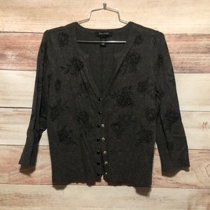 Women's White House Black Market Button Up Sweater